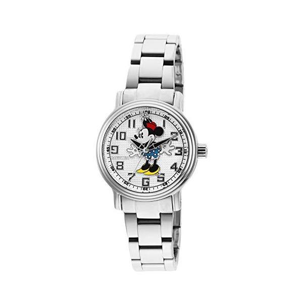 インビクタ INVICTA インヴィクタ 腕時計 ウォッチ 27396 ディズニー 限定 ミニー レディース 女性用 Invicta Women's Disney Limited Edition Quartz Watch with Stainless Steel Strap, Silver, 16 (Model: 27396)