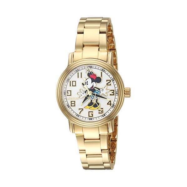 インビクタ INVICTA インヴィクタ 腕時計 ウォッチ 27397 ディズニー 限定 ミニー レディース 女性用 Invicta Women's Disney Limited Edition Quartz Watch with Stainless Steel Strap, Gold, 14.6 (Model: 27397)