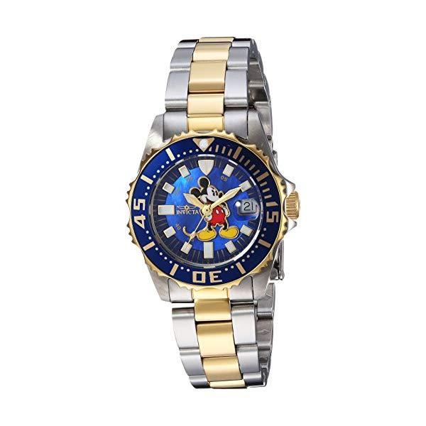 インビクタ 女性用 25573) INVICTA インヴィクタ 腕時計 レディース ウォッチ 25573 ディズニー 限定 ミッキー レディース 女性用 Invicta Women's Disney Limited Edition Quartz Watch with Two-Tone-Stainless-Steel Strap, 16 (Model: 25573), Shino Eclat(シノエクラ):261c740b --- ww.thecollagist.com