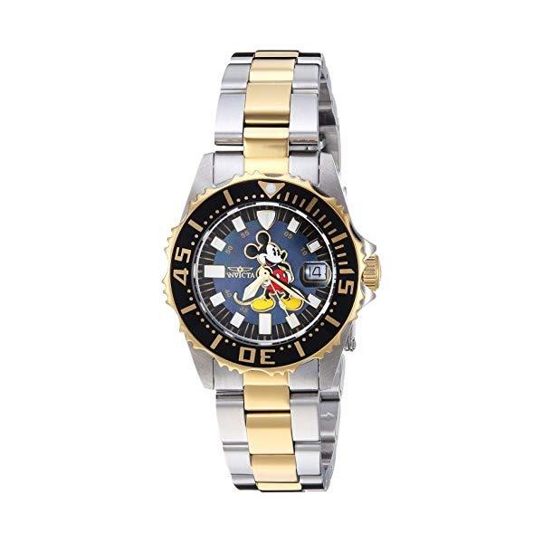 インビクタ INVICTA Steel インヴィクタ 腕時計 ウォッチ Quartz 25572 (Model: ディズニー 限定 ミッキー レディース 女性用 Invicta Women's Disney Limited Edition Quartz Watch with Stainless Steel Strap, Two Tone, 16 (Model: 25572), テスラ:039f31cc --- ww.thecollagist.com
