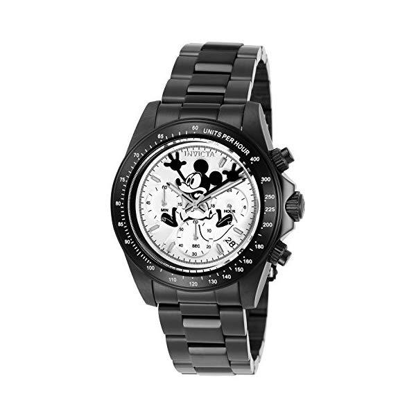 インビクタ INVICTA インヴィクタ 腕時計 ウォッチ 24417 ディズニー 限定 ミッキー メンズ 男性用 Invicta Men's Disney Limited Edition Quartz Watch with Stainless-Steel Strap, Two Tone, 20 (Model: 24417)