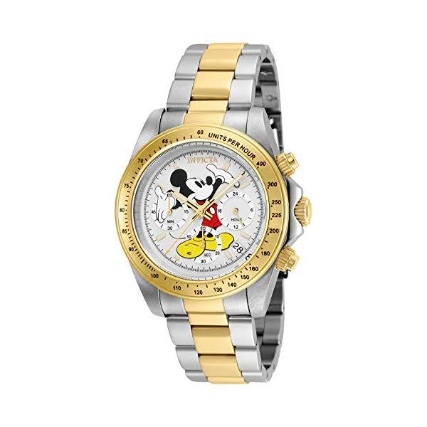 インビクタ INVICTA インヴィクタ 腕時計 ウォッチ 25193 ディズニー 限定 ミッキー メンズ 男性用 Invicta Men's Disney Limited Edition Quartz Watch with Stainless-Steel Strap, Two Tone, 9 (Model: 25193