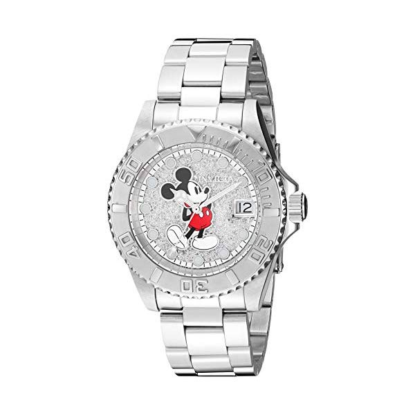 インビクタ INVICTA インヴィクタ 腕時計 レディース ウォッチ ミッキー 27381 ディズニー 限定 ミッキー Silver, レディース 女性用 Invicta Women's Disney Limited Edition Quartz Watch with Stainless-Steel Strap, Silver, 20 (Model: 27381), バッグ雑貨/アビアント:67a3cd0a --- ww.thecollagist.com