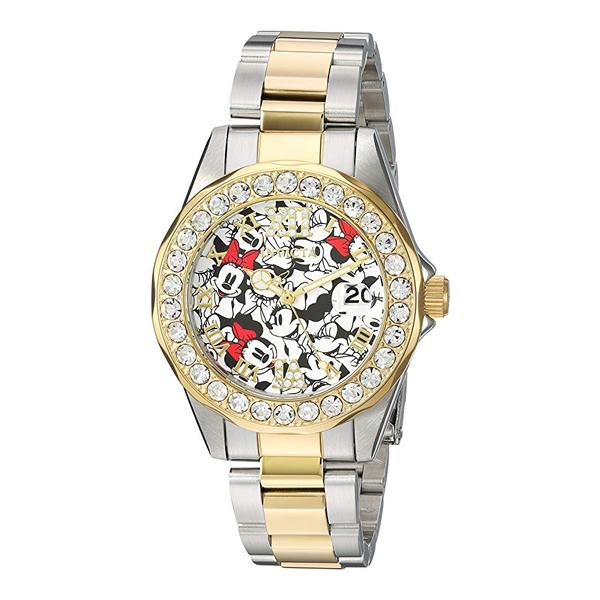 インビクタ INVICTA インヴィクタ 腕時計 ウォッチ 24418 ディズニー 限定 ミニー レディース 女性用 Invicta Women's Disney Limited Edition Quartz Watch with Stainless-Steel Strap, Two Tone, 18 (Model: 24418)
