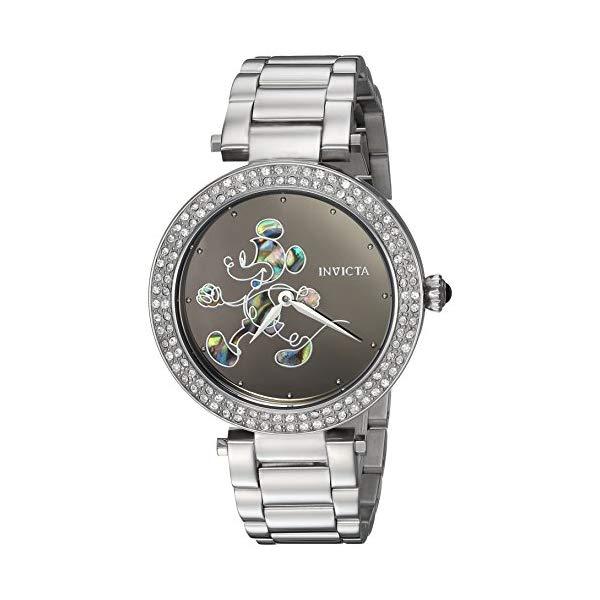 インビクタ INVICTA インヴィクタ 腕時計 レディース ウォッチ 23780 腕時計 ディズニー 限定 ミッキー INVICTA レディース 女性用 Invicta Women's Disney Limited Edition Quartz Watch with Stainless-Steel Strap, Silver, 18 (Model: 23780), 鴨方町:7d24e8b7 --- ww.thecollagist.com