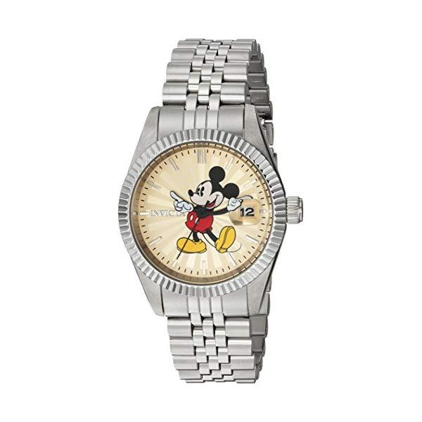 インビクタ with INVICTA インヴィクタ 腕時計 ウォッチ 腕時計 22774 ディズニー 限定 Invicta ミッキー レディース 女性用 Invicta Women's Disney Limited Edition Quartz Watch with Stainless-Steel Strap, Silver, 0.6 (Model: 22774), jewelry shop BeJ:3d14ea96 --- ww.thecollagist.com