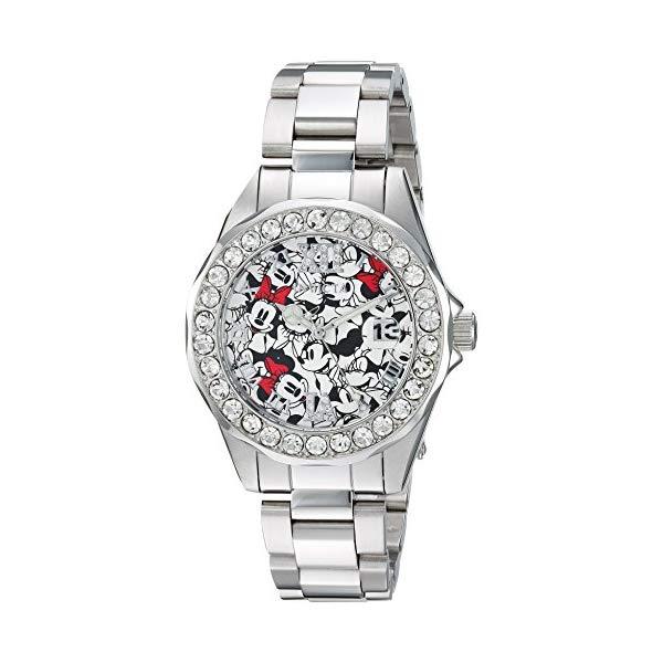 インビクタ INVICTA インヴィクタ 腕時計 ウォッチ 22872 ディズニー 限定 ミニー レディース 女性用 Invicta Women's Disney Limited Edition Analog-Quartz Watch with Stainless-Steel Strap, Silver, 18 (Model: 22872)