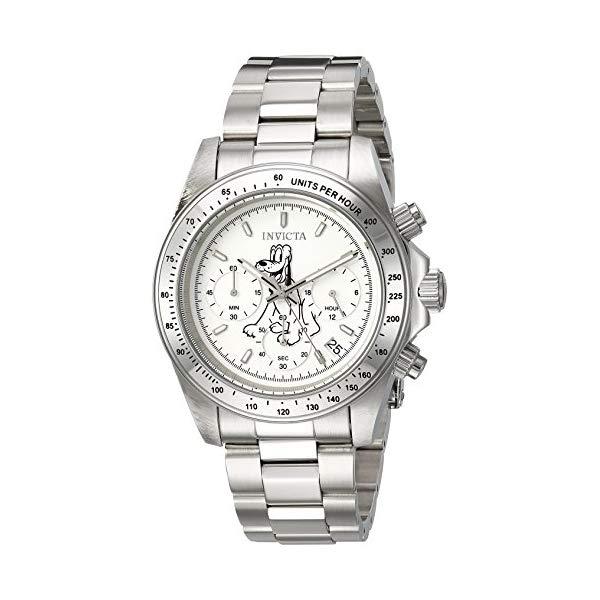 インビクタ INVICTA インヴィクタ 腕時計 ウォッチ 24398 ディズニー 限定 プルート メンズ 男性用 Invicta Men's Disney Limited Edition Quartz Watch with Stainless-Steel Strap, Silver, 20 (Model: 24398)