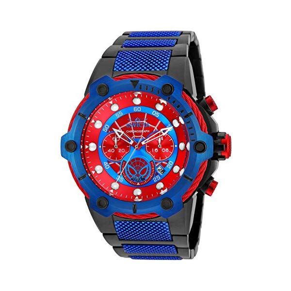 インビクタ INVICTA インヴィクタ 腕時計 ウォッチ MARVEL 25782 マーベル スパイダーマン メンズ 男性用 Invicta Men's Marvel Quartz Watch with Stainless-Steel Strap, Two Tone, 26.5 (Model: 25782)