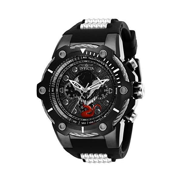 インビクタ INVICTA インヴィクタ 腕時計 ウォッチ MARVEL 29055 マーベル ヴェノム メンズ 男性用 Invicta Men's Marvel Stainless Steel Quartz Watch with Silicone Strap, Two Tone, 30 (Model: 29055)