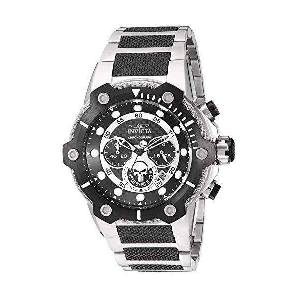 インビクタ INVICTA インヴィクタ 腕時計 ウォッチ MARVEL 25983 マーベル パニッシャー メンズ 男性用 Invicta Men's 25983 Marvel Analog Display Quartz Two Tone Watch