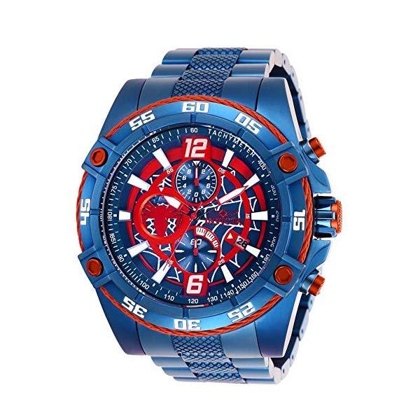 インビクタ INVICTA インヴィクタ 腕時計 ウォッチ MARVEL 26771 マーベル スパイダーマン メンズ 男性用 Invicta Marvel Limited Edition 26771 Spider Man 52mm Stainless Steel Blue/Red Men's Watch