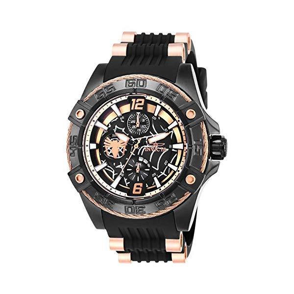 インビクタ INVICTA インヴィクタ 腕時計 インヴィクタ ウォッチ MARVEL Rose 27028 マーベル スパイダーマン Gold, レディース 女性用 Invicta Women's 27028 Marvel Quartz Multifunction Black, Rose Gold, White Dial Watch, ミヤギムラ:f741fea7 --- ww.thecollagist.com
