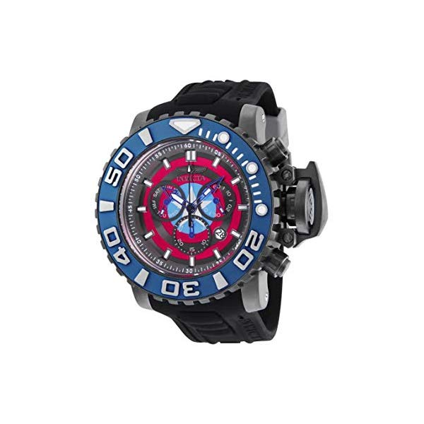 インビクタ INVICTA インヴィクタ 腕時計 ウォッチ MARVEL 25621 マーベル キャプテンアメリカ Invicta Marvel's Captain America 58mm Sea Hunter Lim.Ed. Swiss Quartz Chronograph Silicone Strap Watch 25621