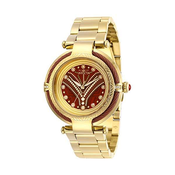 インビクタ INVICTA インヴィクタ 腕時計 ウォッチ MARVEL 29567 マーベル オコエ レディース 女性用 Invicta Women's Marvel Quartz Watch with Stainless Steel Strap, Gold, 20 (Model: 29567)