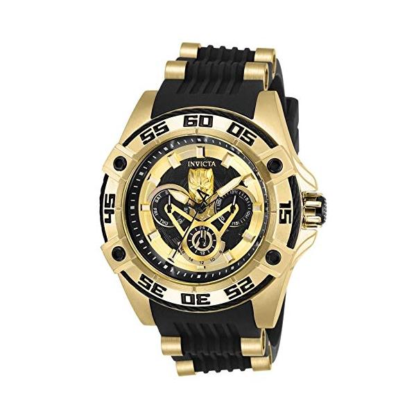 インビクタ レディース INVICTA インヴィクタ 腕時計 Dial ウォッチ MARVEL 27030 マーベル ブラックパンサー 27030 レディース 女性用 Invicta Women's 27030 Marvel Quartz Multifunction Gold, Black Dial Watch, イタコシ:6f2d59f1 --- ww.thecollagist.com
