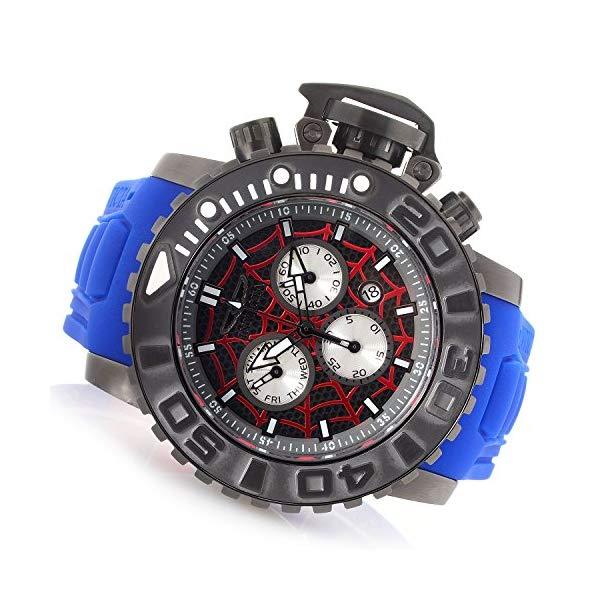 インビクタ INVICTA インヴィクタ 腕時計 ウォッチ MARVEL マーベル スパイダーマン Invicta Marvel's Spiderman 58mm Sea Hunter Lim.Ed. Swiss Quartz Chronograph Silicone Strap Watch