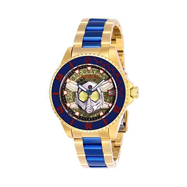 インビクタ INVICTA インヴィクタ 腕時計 ウォッチ MARVEL 27782 マーベル アントマン ワスプ レディース 女性用 Invicta Women's Marvel Automatic-self-Wind Watch with Stainless-Steel Strap, Two Tone, 18 (Model: 27782)