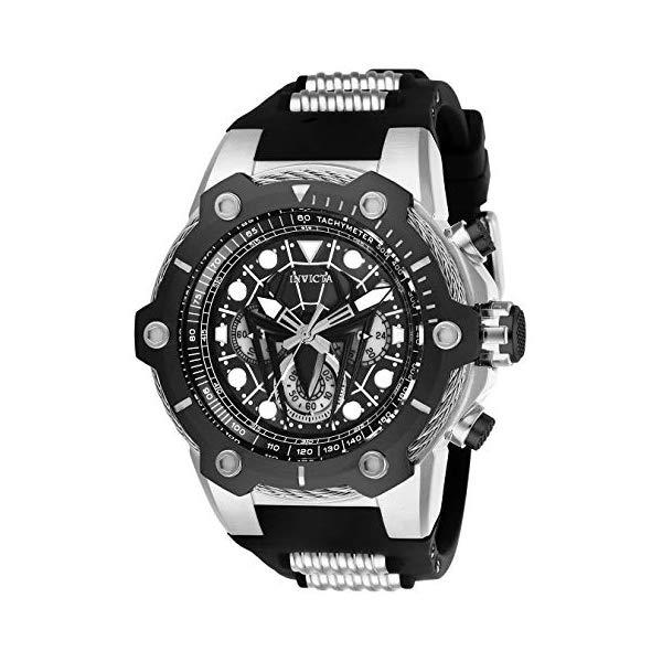 インビクタ INVICTA インヴィクタ 腕時計 ウォッチ MARVEL 26915 マーベル スパイダーマン メンズ 男性用 Invicta Men's Marvel Stainless Steel Quartz Watch with Silicone Strap, Two Tone, 30 (Model: 26915)