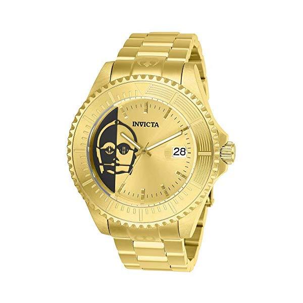 インビクタ INVICTA インヴィクタ 腕時計 ウォッチ Star Wars 26166 スターウォーズ C-3PO メンズ 男性用 Invicta Fashion Watch (Model: 26166)