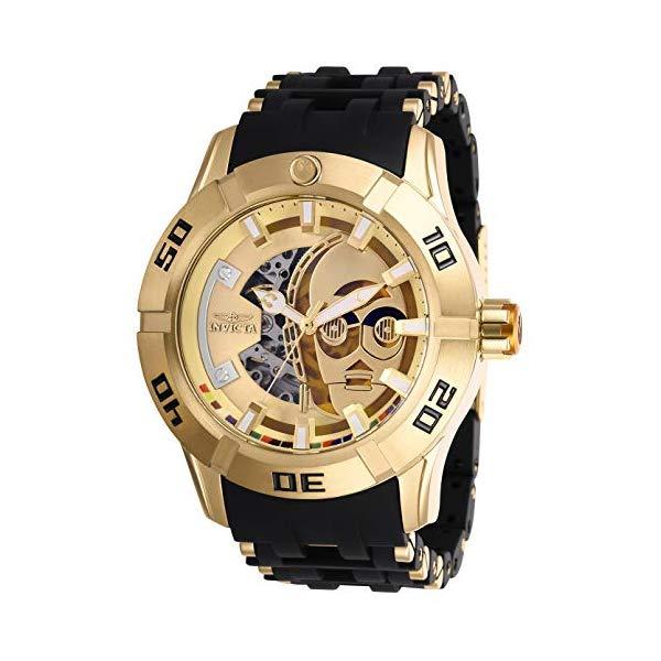 インビクタ INVICTA インヴィクタ 腕時計 ウォッチ Star Wars 26550 スターウォーズ C-3PO メンズ 男性用 Invicta Star Wars Automatic Gold Dial Men's Watch 26550