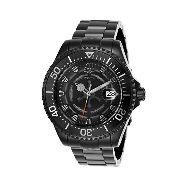 インビクタ INVICTA インヴィクタ 腕時計 ウォッチ Star Wars 26161 スターウォーズ ダースベーダー メンズ 男性用 Invicta 26161 Limited Edition Star Wars Darth Vader Black Dial/Case Men's Watch
