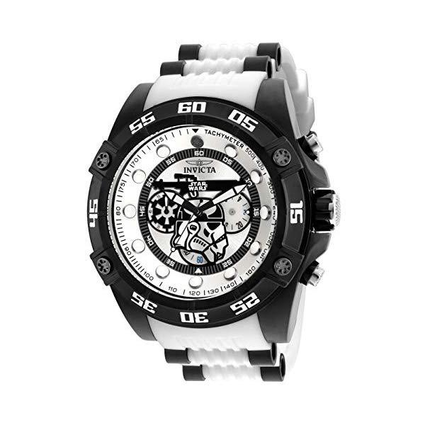 インビクタ INVICTA インヴィクタ 腕時計 ウォッチ Star Wars 26068 スターウォーズ ストームトルーパー メンズ 男性用 Invicta Men's Star Wars Stainless Steel Quartz Watch with Silicone Strap, White, 26 (Model: 26068)