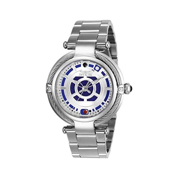 インビクタ INVICTA インヴィクタ 腕時計 ウォッチ Star Wars 26234 スターウォーズ R2-D2 レディース 女性用 Invicta Women's 26234 Star Wars Quartz Multifunction Silver Dial Watch