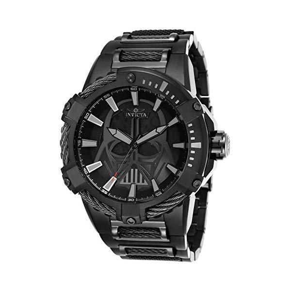 インビクタ INVICTA インヴィクタ 腕時計 ウォッチ Star Wars 26204 スターウォーズ ダースベーダー メンズ 男性用 Invicta Men's Star Wars Automatic-self-Wind Watch with Stainless-Steel Strap, Black, 30 (Model: 26204)