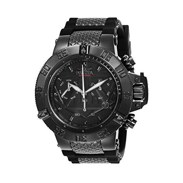 インビクタ INVICTA インヴィクタ 腕時計 ウォッチ Star Wars 26241 スターウォーズ ダースベーダー メンズ 男性用 Invicta Men's Star Wars Stainless Steel Quartz Watch with Silicone Strap, Black, 29 (Model: 26241)
