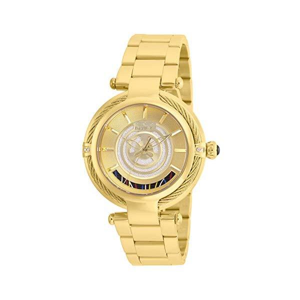 インビクタ INVICTA インヴィクタ 腕時計 ウォッチ Star Wars 26233 スターウォーズ C-3PO レディース 女性用 Invicta Women's Star Wars Quartz Watch with Stainless-Steel Strap, Gold, 20 (Model: 26233)