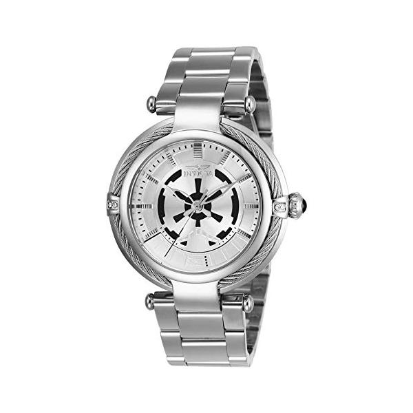 インビクタ INVICTA インヴィクタ 腕時計 ウォッチ Star Wars 26122 スターウォーズ ストームトルーパー レディース 女性用 Invicta Women's 26122 Star Wars Quartz 3 Hand Silver Dial Watch
