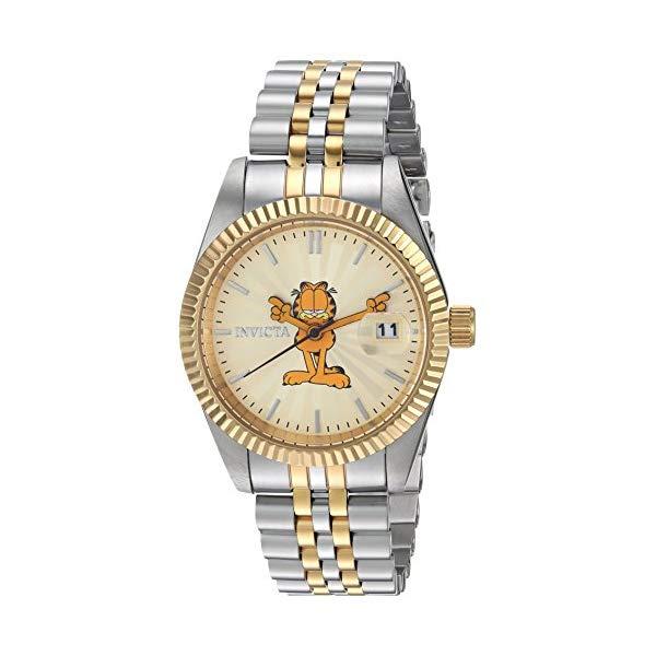 インビクタ INVICTA インヴィクタ 腕時計 12 24877 ウォッチ with 24877 ガーフィールド レディース 女性用 Invicta Women's Quartz Watch with Two-Tone-Stainless-Steel Strap, 12 (Model: 24877), ピアニッシモ:732a9e4e --- ww.thecollagist.com