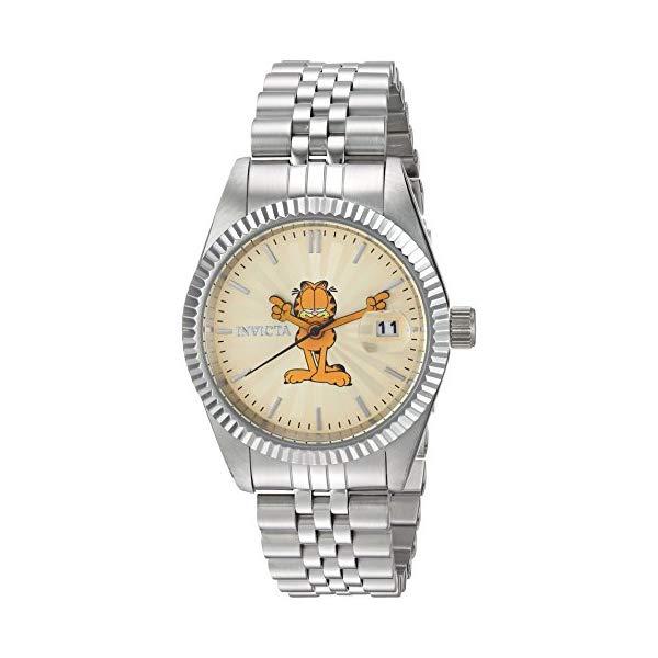 インビクタ INVICTA インヴィクタ 腕時計 ウォッチ レディース 24875 ガーフィールド レディース Strap, 女性用 24875) Invicta Women's Quartz Watch with Stainless-Steel Strap, Silver, 12 (Model: 24875), New Village:2bda7ea7 --- ww.thecollagist.com