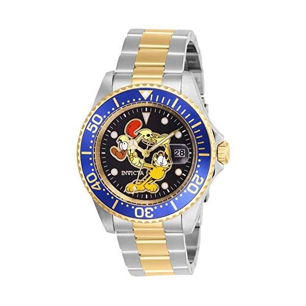 インビクタ INVICTA インヴィクタ 腕時計 ウォッチ 27423 ガーフィールド メンズ 男性用 Invicta Men's Character Collection Quartz Watch with Stainless Steel Strap, Two Tone, 20 (Model: 27423)