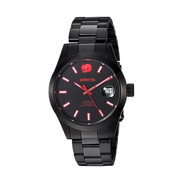 インビクタ INVICTA インヴィクタ 腕時計 ウォッチ 24974 ベティちゃん ベティブープ メンズ 男性用 Invicta Men's Character Collection Automatic-self-Wind Watch with Stainless-Steel Strap, Black, 20 (Model: 24974)