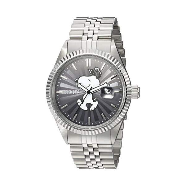 インビクタ INVICTA インヴィクタ 腕時計 ウォッチ 24800 スヌーピーメンズ 男性用 Invicta Men's Character Collection Analog-Quartz Watch with Stainless-Steel Strap, Silver, 22 (Model: 24800)
