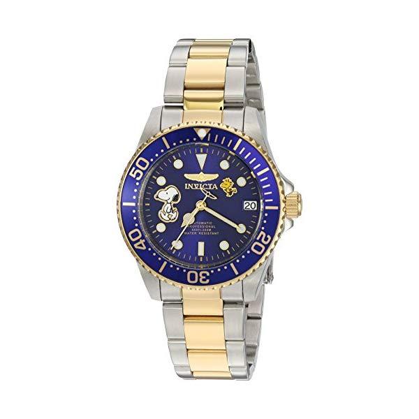 インビクタ Two INVICTA インヴィクタ 腕時計 ウォッチ with 24794 スヌーピー レディース 女性用 インヴィクタ Invicta Women's Character Collection Automatic-self-Wind Watch with Stainless-Steel Strap, Two Tone, 18 (Model: 24794), seiheishop:04bc28ac --- ww.thecollagist.com