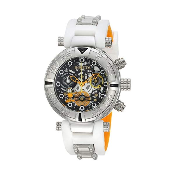 インビクタ INVICTA 20 インヴィクタ 腕時計 ウォッチ 24881 Invicta ガーフィールド with レディース 女性用 Invicta Women's Character Collection Stainless Steel Quartz Watch with Silicone Strap, White, 20 (Model: 24881), ヨロンチョウ:9b89f881 --- ww.thecollagist.com