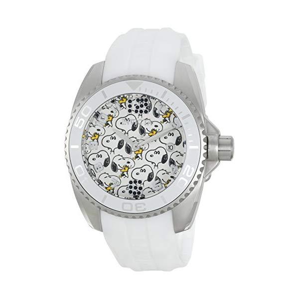 インビクタ INVICTA インヴィクタ 腕時計 ウォッチ 24906 スヌーピー レディース 女性用 Invicta Women's Character Collection Stainless Steel Quartz Watch with Silicone Strap, White, 20 (Model: 24906)