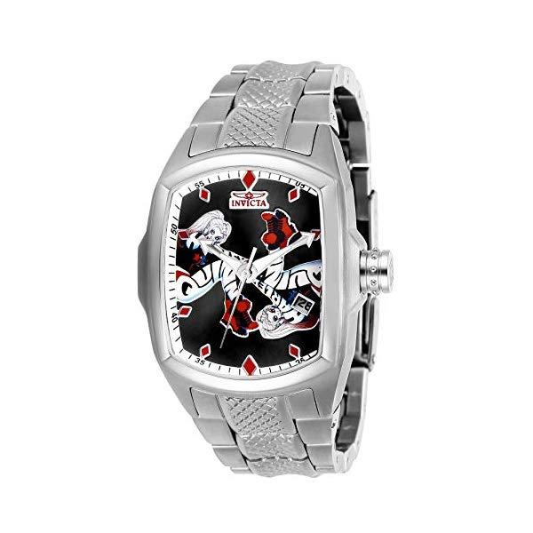 インビクタ INVICTA インヴィクタ 腕時計 ウォッチ 28370 ハーレイクイン DCコミックス レディース 女性用 Invicta Women's DC Comics Quartz Watch with Stainless Steel Strap, Silver (Model: 28370)