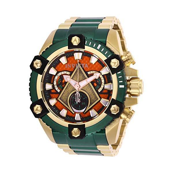 インビクタ INVICTA インヴィクタ 腕時計 ウォッチ 26910 アクアマン DCコミックス メンズ 男性用 Invicta Men's DC Comics Quartz Watch with Stainless Steel Strap, Green, 31 (Model: 26910)