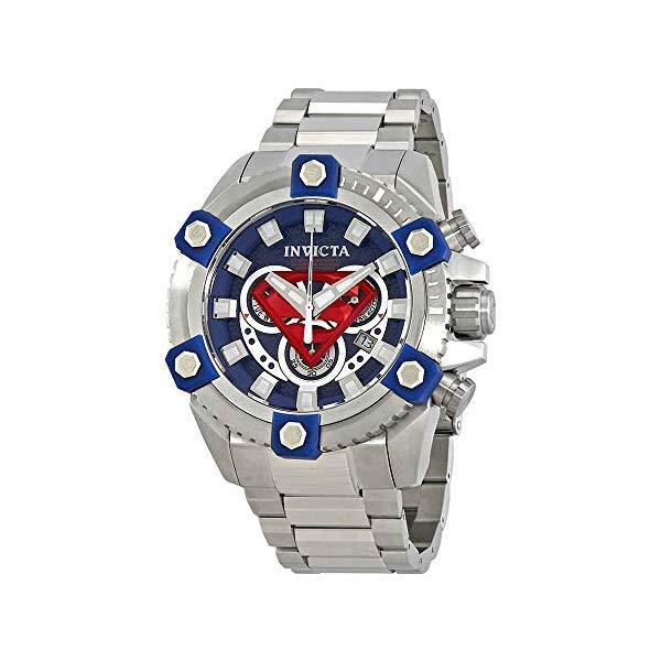インビクタ INVICTA インヴィクタ 腕時計 ウォッチ 26909 スーパーマン DCコミック メンズ 男性用 Invicta DC Comics Chronograph Blue Dial Men's Watch 26909