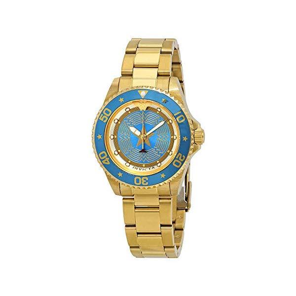 インビクタ INVICTA インヴィクタ 腕時計 ウォッチ 29691 ワンダーウーマン DCコミックス レディース 女性用 Invicta DC Comics Quartz Blue Dial Ladies Watch 29691