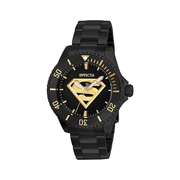 インビクタ INVICTA インヴィクタ 腕時計 ウォッチ 26899 スーパーマン DCコミックス レディース 女性用 Invicta DC Comics Automatic Black Dial Ladies Watch 26899