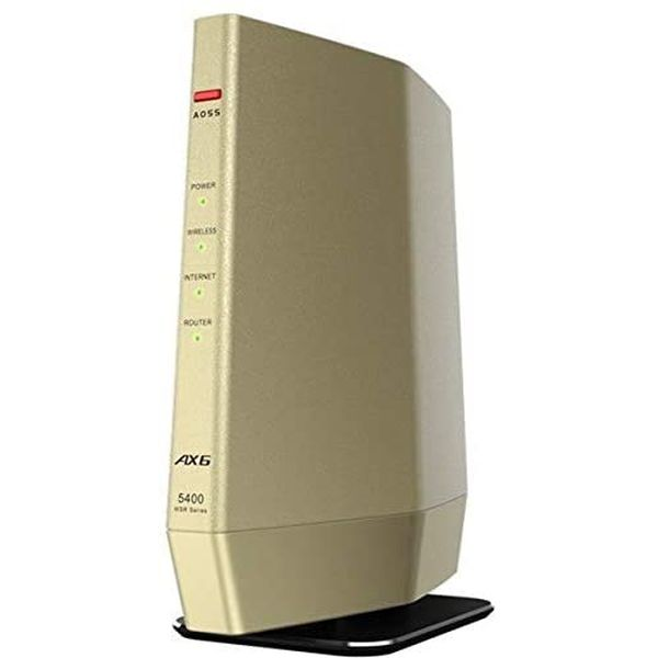 送料無料 即納 バッファロー 11ax Wi-Fi 6 親機 高品質新品 無線LANルータ WSR-5400AX6-CG 4803+573mbps オーバーのアイテム取扱☆ 対応