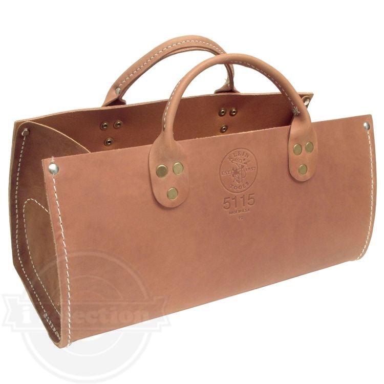 クラインツールズ 5115 レザートートバッグ(Klein Tools 5115 Leather Tote Bag)