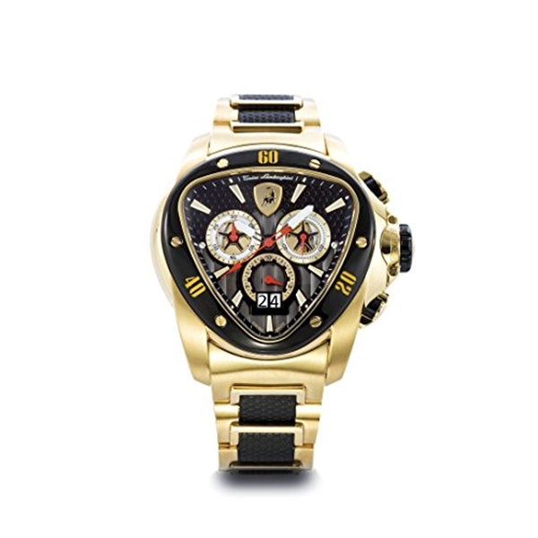 """ランボルギーニ 腕時計 時計 Tonino Lamborghini 1119 Spyder Men""""s Chronograph Watch"""