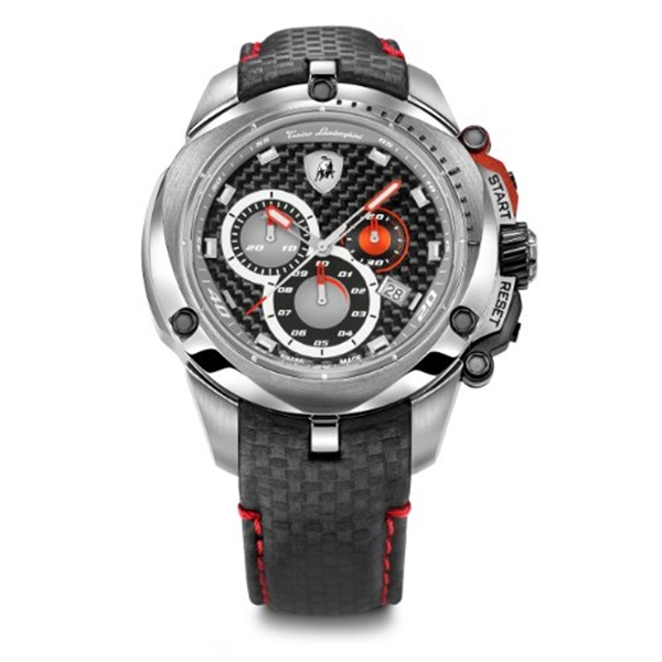 ランボルギーニ 腕時計 時計 Tonino Lamborghini 7801 Shield Series Chronograph Watch