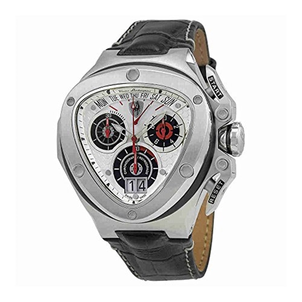 ランボルギーニ 腕時計 時計 Lamborghini Spyder Silver Dial Mens Chronograph Watch 3009